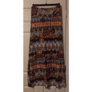 Bohemian summer light weight skirt